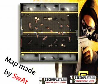 Карта aim_gamegear для CS:GO