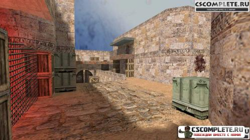 Карта zm_dust2 для CS 1.6